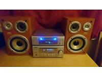 Sanyo separate stack stereo system