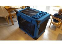 Folding Dog Crate RELISTED DUE TO NON COLLECTION