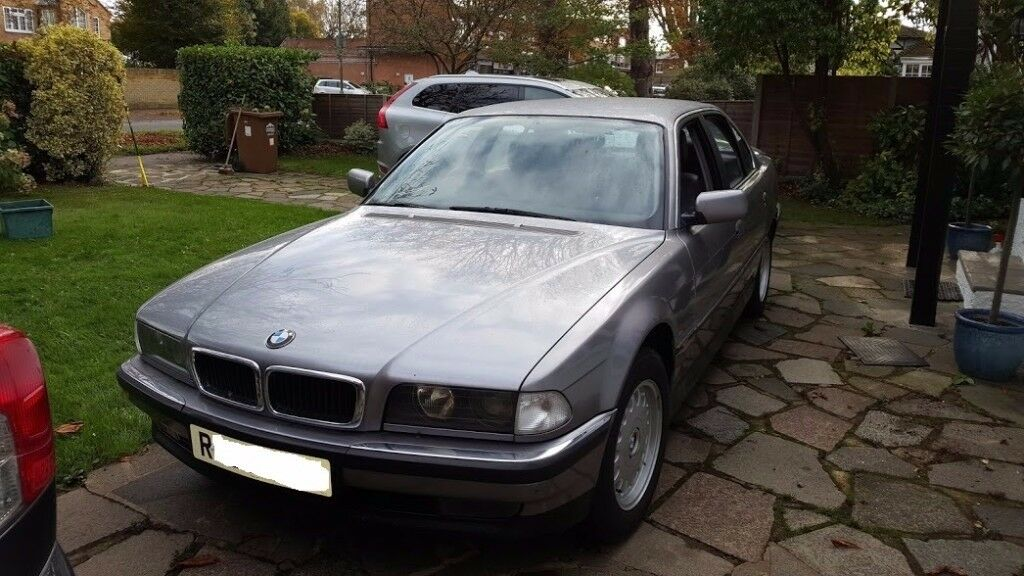 BMW 728i 728 1998 124K miles, last owner 10 years- 13 months MOT FSH, 4 former keepers