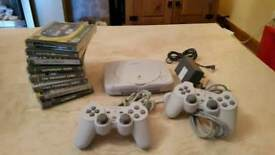 Sony Psone Console and Games