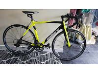 Brand new carbon fibre road bike