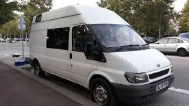 FORD TRANSIT 350 LWB 90 HP Van Full refurbishment