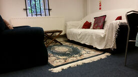 Psychotherapy / Counselling room next to Finsbury Park Station only £60 for all day hire
