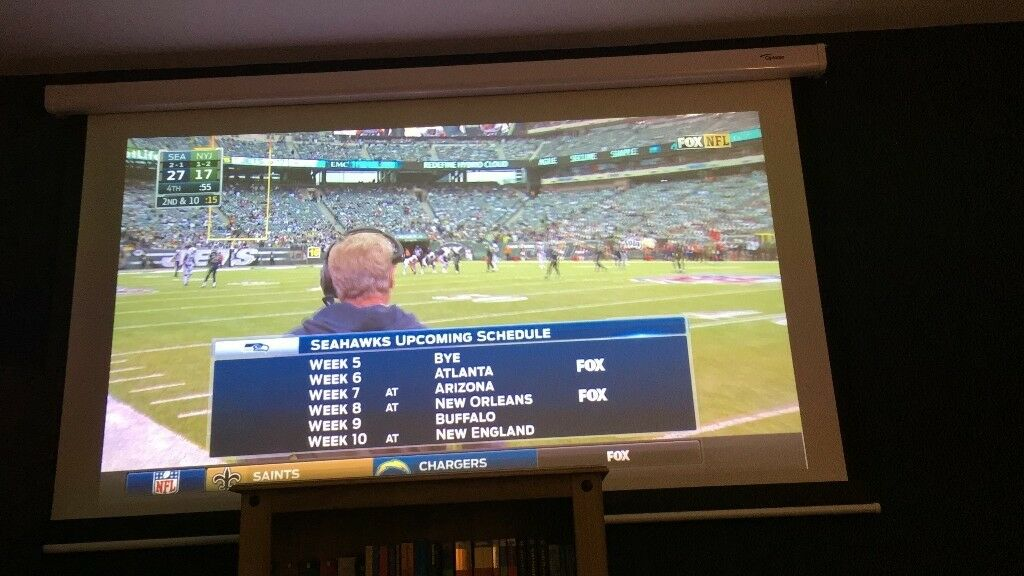 Optoma 92 Inch Projector Screen
