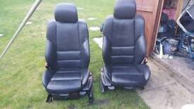 2 front bmw e46 m sport leather seats project