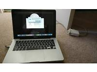 """Macbook Pro Early 2011, 13"""", 4GB RAM, 2.3 Ghz Intel i5 with protective case"""