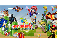 2tb HYPERSPIN ARCADE DRIVE - FOR NVIDIA SHIELD TV