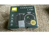 NIKON COOLPIX L340 BRAND NEW SEALED CAMERA LIKE DSLR SLR swap exchange considered