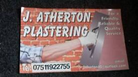 Need a reliable good plasterer