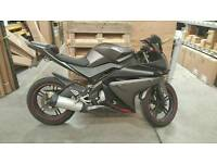 Yamaha YZF R125 Matt Grey 2012 Model