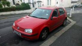 Golf 1.6 Spares and repairs