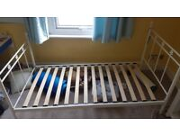 Great condition single metal bed frame