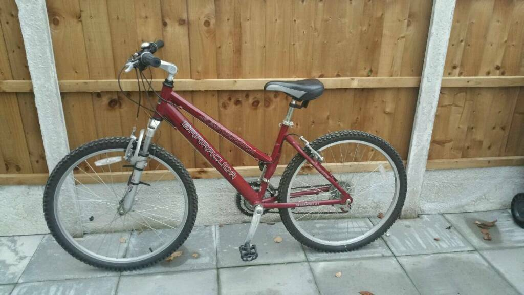 Barracuda Savannah ladies mountain bike, burgundy, excellent condition