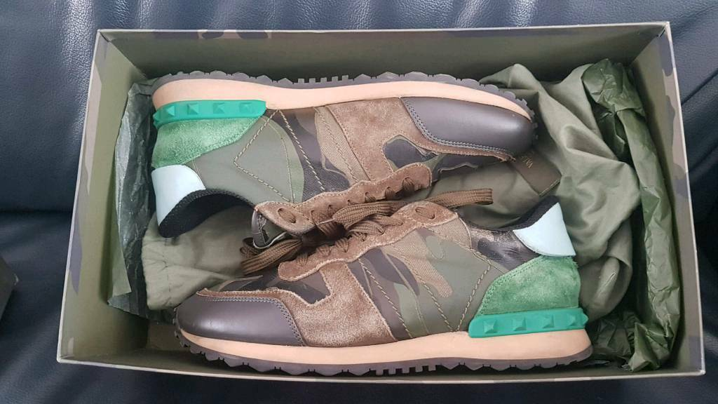 Valentino Rockrunner Trainers - Size 5 UK  1a2129e41d7d