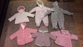 3-6months girls winter bundle