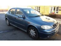 ASTRA 1.4 16v PETROL 5DOOR HATCHBACK LONG MOT