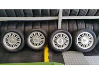 Renault Genuine 16 alloy wheels + 4 x tyres 205 55 16