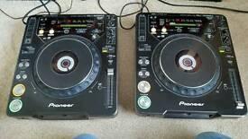 Pair Pioneer CDJ 1000 Mk3 Decks boxed
