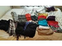 Womens scarfs bundle
