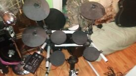 Session Pro DD505 electric drum kit - good working