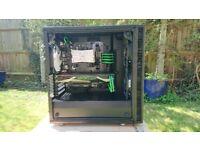 Desktop PC Ryzen 5 1600 GTX 1080 16GB RAM 128GB M.2 SSD + 480GB SSD