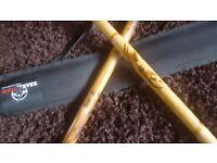 "martial arts Krakstorm Escrima Sticks 3/4 "" / 1"" (Pair) W/Bag"