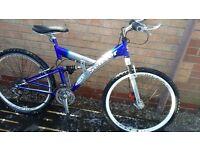 Full suspension bike for Sale