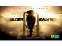 2x Aviva premiership final tickets 2017 wasps vs exeter rugby twickenham