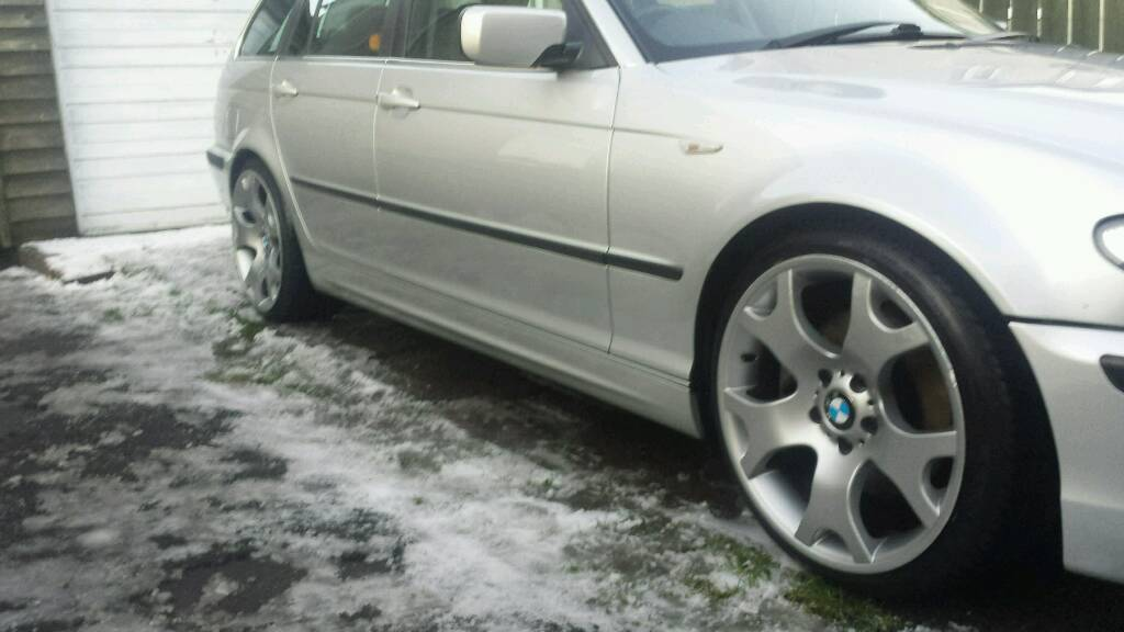 Bmw X5 Tiger Claws Tires For E46 Etc Alloy Wheels In Cupar Fife Gumtree