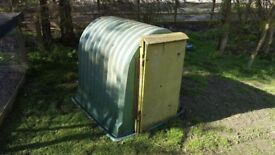 Calf Hutch with door and grill