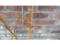 Vintage Wrought Iron Gate