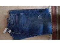 fat face mens jeans 32R 32L new with labels on £10