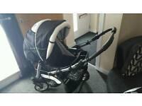 REDUCED baby merc 3 in 1 pushchair
