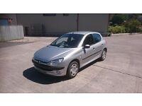 Peugeot 206 2000 X reg 1.4 Petrol Manual **109,000 miles**