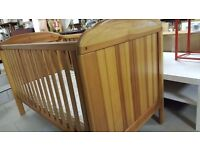 Beautiful Solid Wood Cot Bed In Great Condition