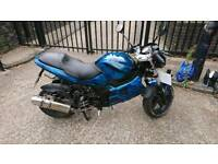 Gilera DNA 125cc 4 stroke, 11 months mot, runs and rides