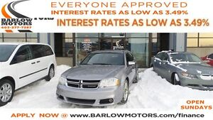 2013 Dodge Avenger SXT *EVERYONE APPROVED* APPLY NOW DRIVE NOW!