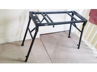 Height & Width Adjustable Piano heavy duty foldable keyboard Stand - Good Condition