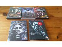 Final Destination 1 to 5 DVDs