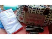 Pink Lining Baby Changing Bag