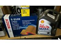 Oil and filter change kit