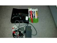 XBOX 360s. 250GB. With nine games, including GTA 5