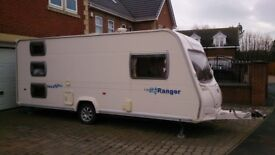 Bailey Ranger 540/6 series 5, 6 berth caravan. 390 awning used 4 times.