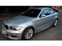BMW 123D twin turbo 204BHP. FSH BMW & GERMAN CAR SPECIALIST. 1/2 leather seats, mot till may.