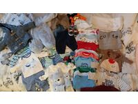 2 large new born boys bundles of top brand clothes for sale excelent condition some new