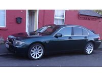 2003 BMW 7 SERIES, 745i, PETROL, £2850 (REDUCED FOR A QUICK SALE!!!!)