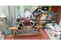 gliding rocking horse for sale in good condition
