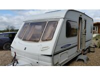 Abbey Freestyle SE 2004 with full Dorema Awning. Very good clean condition, with lots of extras