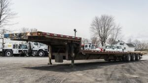 2010 MANAC  DROP DECK 53' TRI-AXLE STEEL EXTENDABLE 71'