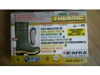 Cofra thermal safety wellingtons